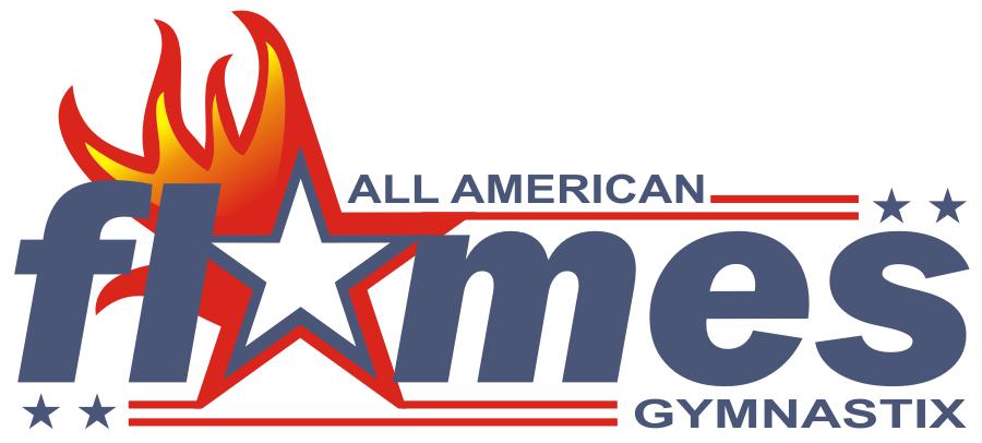 Flames gymnastics