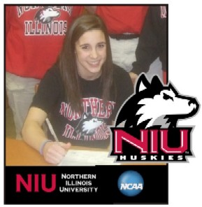 Amanda Stepp signs Letter of Intent - NIU Huskies - 11/15/10